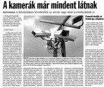 A térfigyelő kamerák mindent látnak (Tolnai Népújság 2010.05.25.)