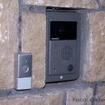 Beépített videó kaputelefon