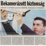 Bekamerázott biztonság Tolnai Népújság 2007. 02. 20.