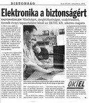 Elektronika a biztonságért  (Tolnai Népújság 2005.06.06.)