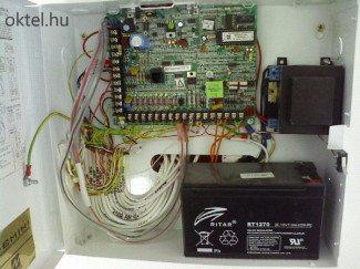 Így néz ki egy rendszeresen karbantartott riasztóközpont.
