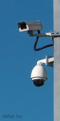 Térfigyelő speed dome kamera