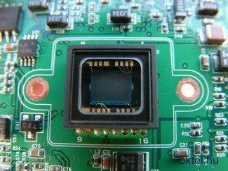 CCD érzékelő egy day&night kamerában