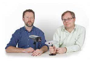 Martin Gren és Carl-Axel Alm, a világ első IP kamerájának kifejlesztői