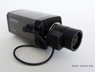Samsung SCB2000 box kamera objektívvel