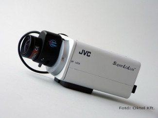 JVC TK-C9200E box kamera objektívvel