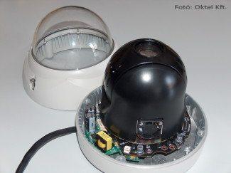 Speed dome kamera leszerelt búrával