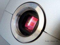 CCD érzékelő egy Panasonic boxkamerában