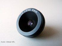 Fix íriszes (fix fókuszos ) objektív, 4 mm