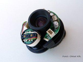 Videó autóíriszes objektív szervomotorral