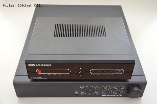 XD Vision XDV-1704 képrögzítők. Két év különbséggel kerültek piacra.