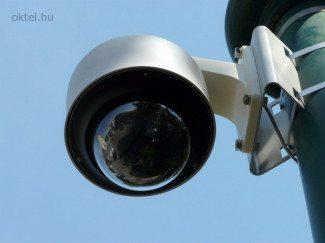 Speed dome kamera: a térfigyelés jellegzetes eszköze (Fotó: Oktel Kft.)