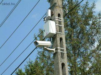 Vezeték nélküli IP kamera (Fotó: Oktel Kft.)