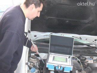 Motorszámvizsgáló kamera