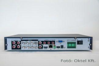 Dahua tribrid HD-CVI DVR csatlakozó felülete