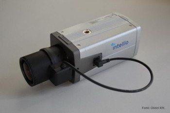 Intelligens kamera (Fotó: Oktel Kft.)