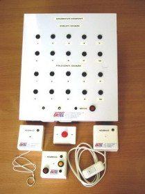 A nővérhívó rendszer elemei