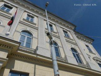 Szekszárdi térfigyelő kamera ... (Fotó: Oktel Kft.)