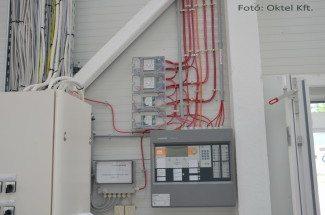 Minősített tűzjelző rendszer központja