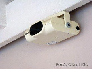 System Sensor 6424 vonali füstérzékelő felszerelve