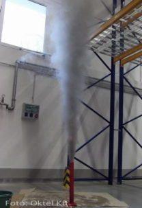 Beindul a füstképződés