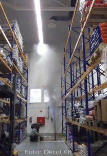 A füst felfelé terjed