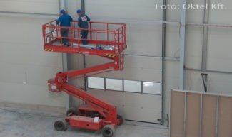 Minősített tűzjelző rendszer telepítése üzemcsarnokban